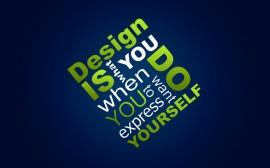 Papel de parede Design: O Que Você Faz Para Se Expressar