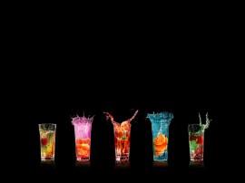 Papel de parede Drink – Cores e Sabores