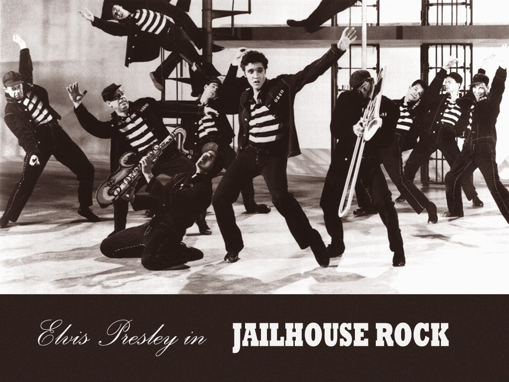 Papel de parede Elvis – Jailhouse Rock para download gratuito. Use no computador pc, mac, macbook, celular, smartphone, iPhone, onde quiser!