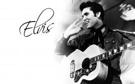 Papel de parede Elvis – Violão