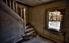 Papel de parede Escada – Destruída