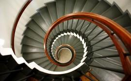 Papel de parede Escada – Espiral