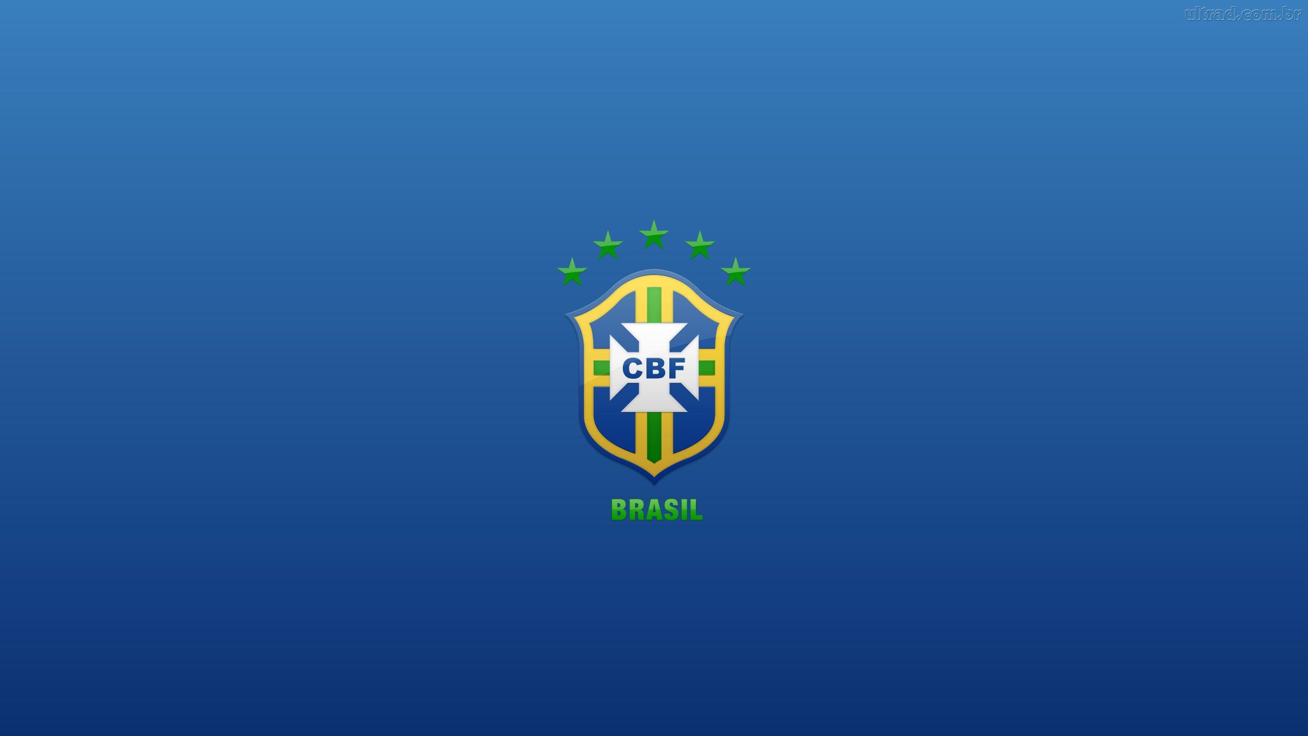 eaf3f4a92c Papel de Parede Escudo da Seleção Brasileira Wallpaper para Download ...