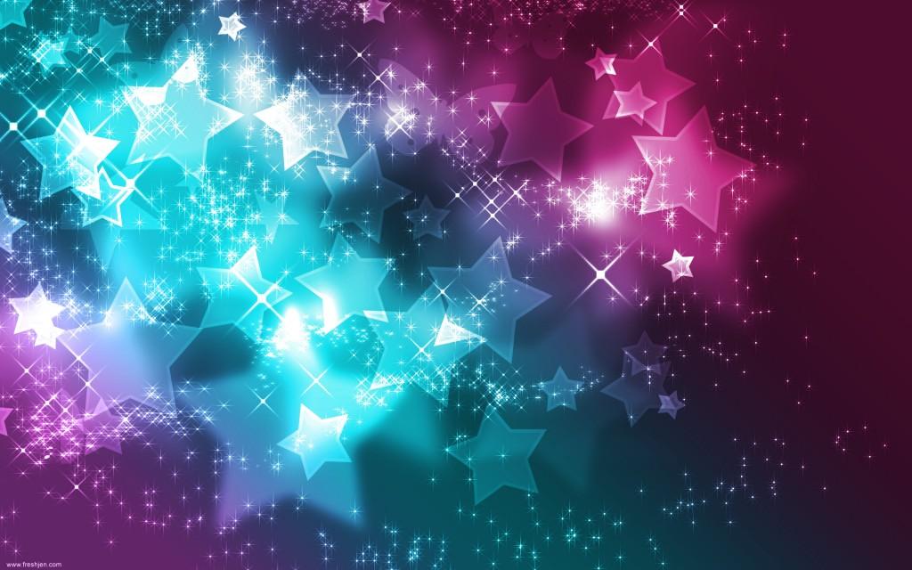 Papel de parede Estrelas Rosa e Azul para download gratuito. Use no computador pc, mac, macbook, celular, smartphone, iPhone, onde quiser!