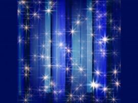Papel de parede Estrelas em Fundo Azul