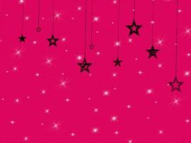 Papel de parede Estrelas Dependuradas
