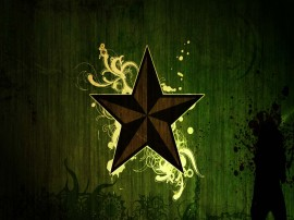 Papel de parede Estrela Adornada