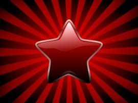 Papel de parede Estrela Vermelha