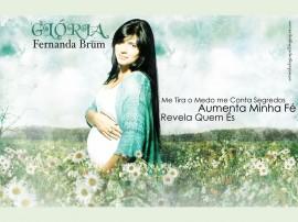 Papel de parede Fernanda Brum – Cantora Evangélica