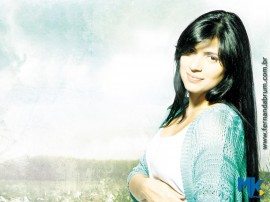 Papel de parede Fernanda Brum – Música