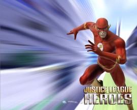 Papel de parede Flash – Herói da Liga da Justiça