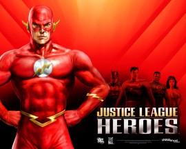 Papel de parede Flash – Liga da Justiça