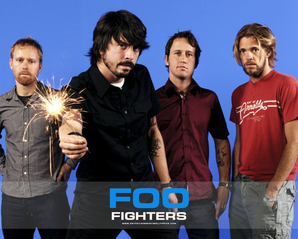 Papel de parede Foo Fighters – Banda Internacional para download gratuito. Use no computador pc, mac, macbook, celular, smartphone, iPhone, onde quiser!