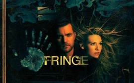 Papel de parede Fringe: Peter Bishop e Olivia Dunham