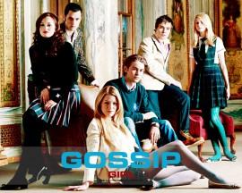 Papel de parede Gossip Girl: Elenco Principal