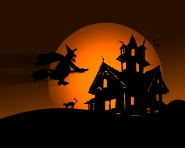 Papel de parede Halloween da Bruxa
