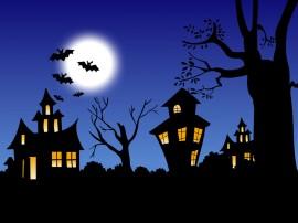 Papel de parede Noite Assustadora de Halloween