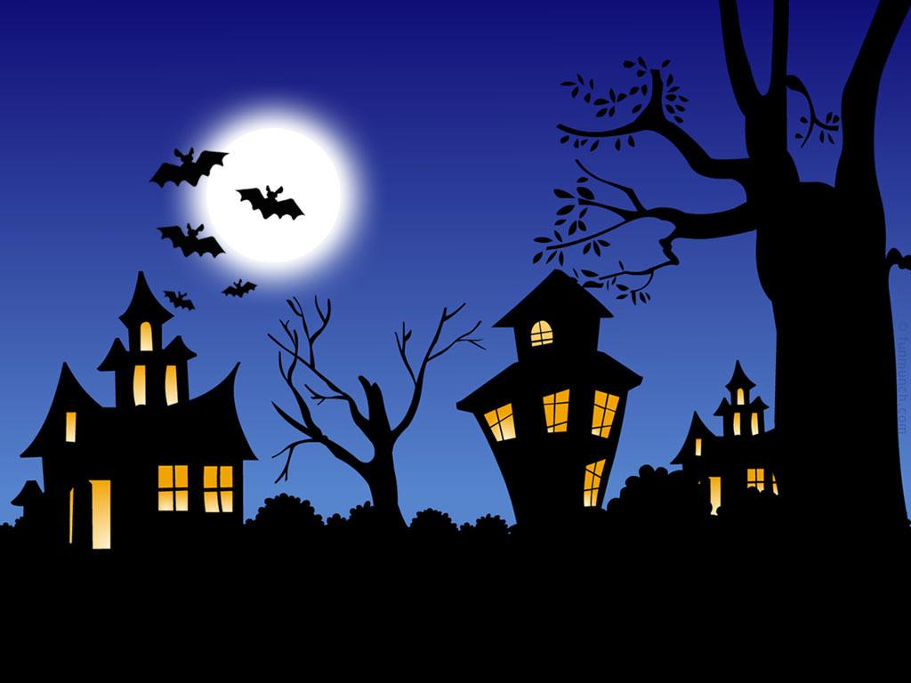 Papel de parede Noite Assustadora de Halloween para download gratuito. Use no computador pc, mac, macbook, celular, smartphone, iPhone, onde quiser!