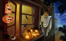 Papel de parede Decoração de Halloween