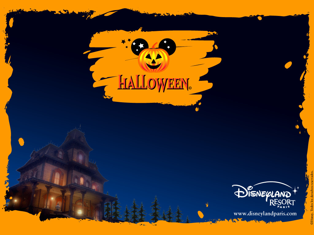 Papel de parede Halloween na Disney para download gratuito. Use no computador pc, mac, macbook, celular, smartphone, iPhone, onde quiser!