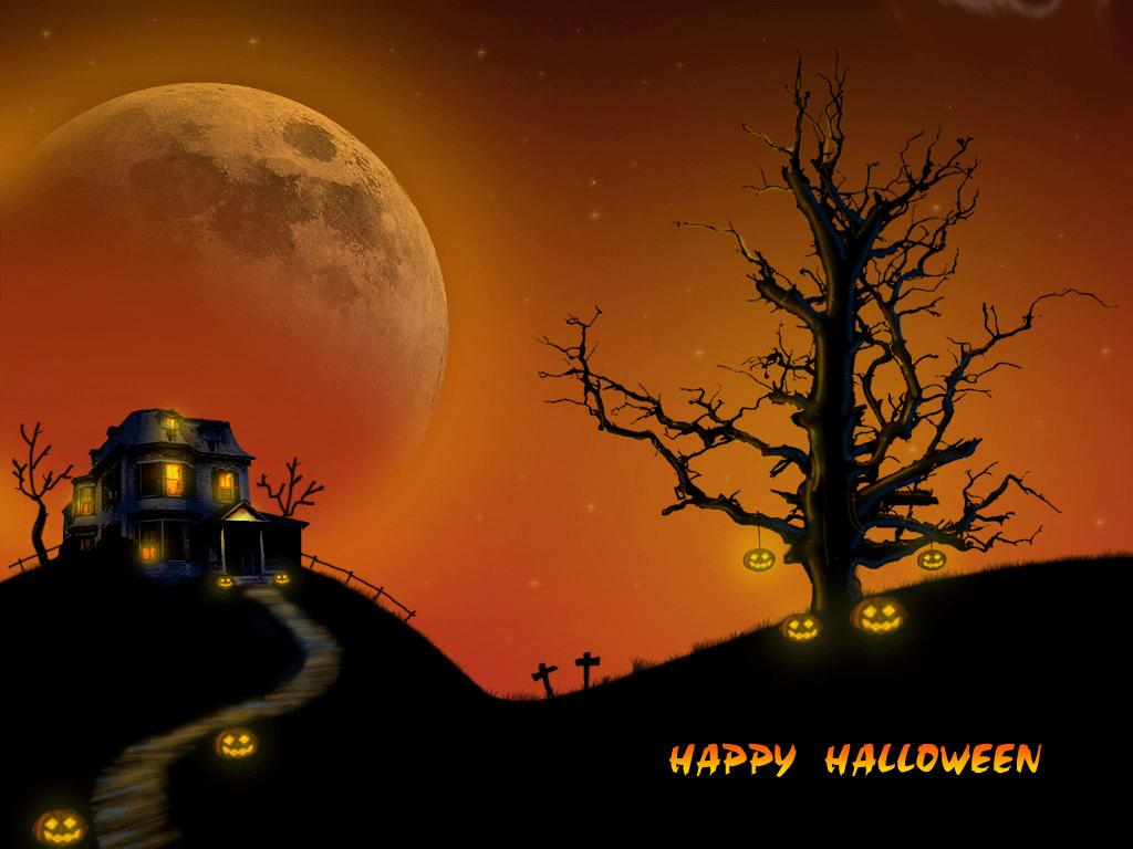 Papel de parede Happy Halloween para download gratuito. Use no computador pc, mac, macbook, celular, smartphone, iPhone, onde quiser!
