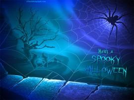 Papel de parede Tenha um Halloween Assustador