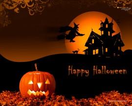 Papel de parede Feliz Halloween