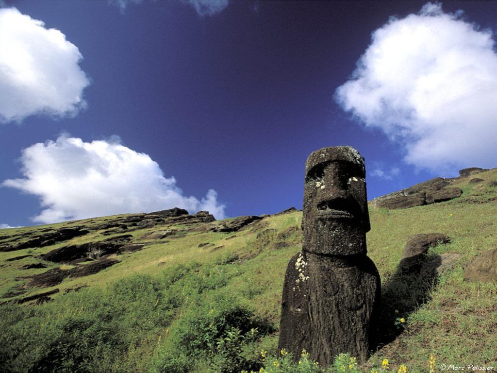 Papel de parede Ilha de Páscoa – Grande para download gratuito. Use no computador pc, mac, macbook, celular, smartphone, iPhone, onde quiser!