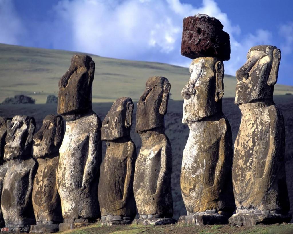 Papel de parede Ilha de Páscoa – Impressionante para download gratuito. Use no computador pc, mac, macbook, celular, smartphone, iPhone, onde quiser!