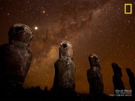 Papel de parede Ilha de Páscoa – Estrelas