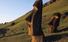 Papel de parede Ilha de Páscoa – Esculturas