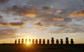 Papel de parede Ilha de Páscoa – Sol