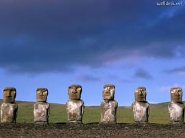 Papel de parede Ilha de Páscoa – Obras