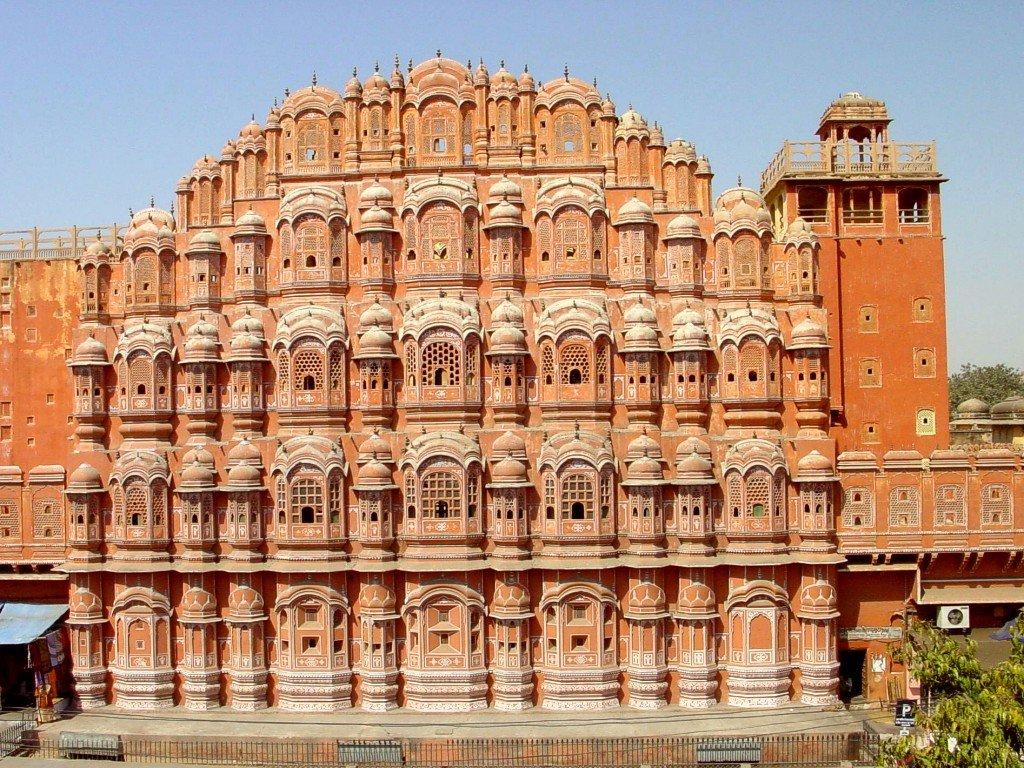 Papel de parede Índia – Palácio dos Ventos para download gratuito. Use no computador pc, mac, macbook, celular, smartphone, iPhone, onde quiser!
