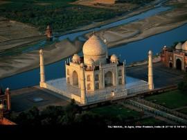 Papel de parede Índia – Vista aérea