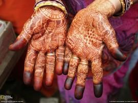 Papel de parede Índia – Mãos
