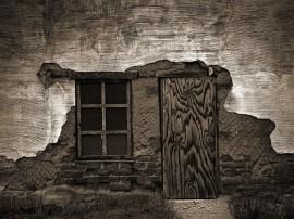 Papel de parede Janela – Velha
