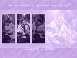 Papel de parede Justin Bieber – Cantando
