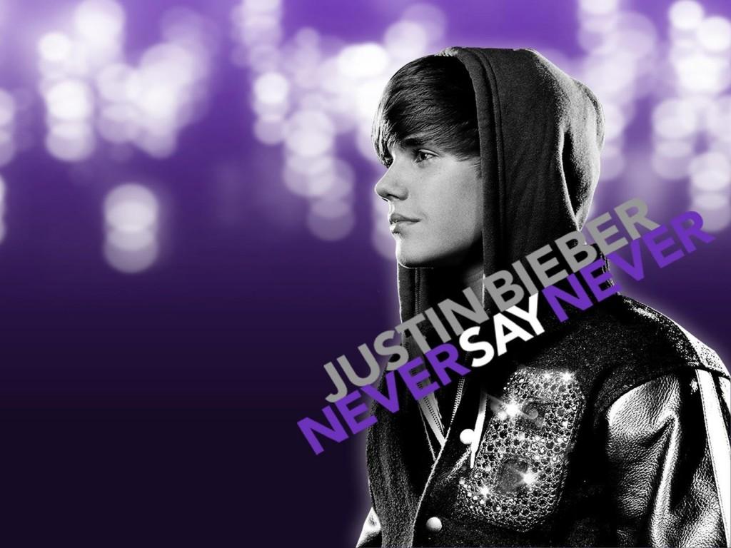 Papel de parede Justin Bieber – Never Say Never para download gratuito. Use no computador pc, mac, macbook, celular, smartphone, iPhone, onde quiser!