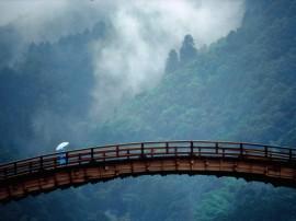 Papel de parede Japão – Ponte Kintai, Yamaguchi