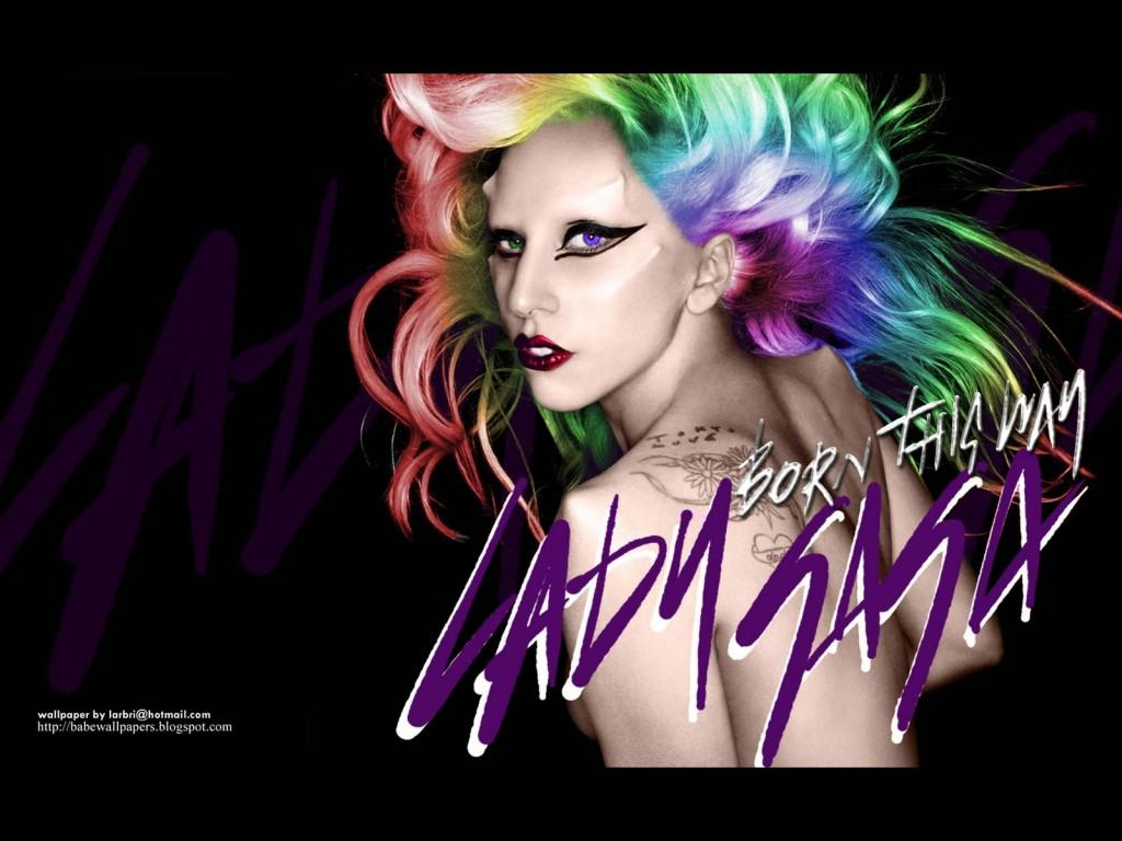 Papel de parede Lady Gaga – Cores para download gratuito. Use no computador pc, mac, macbook, celular, smartphone, iPhone, onde quiser!