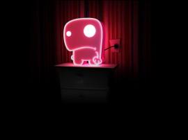 Papel de parede Luminária de Neon