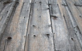 Papel de parede Piso de Madeira Antigo