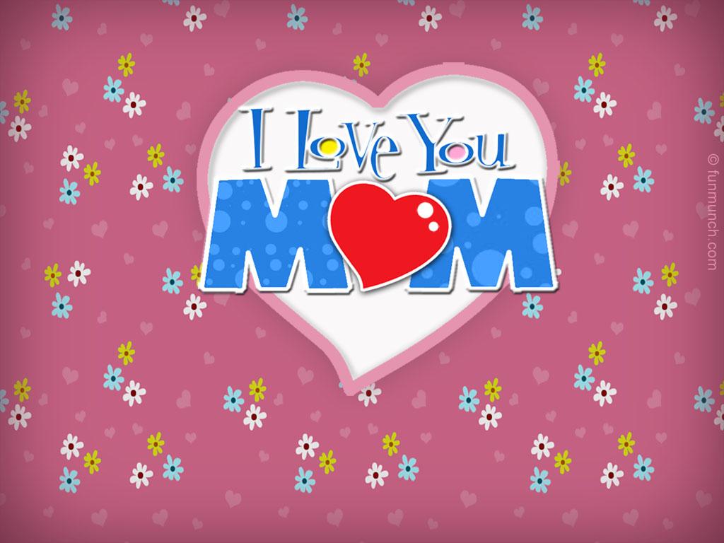 Papel de parede Mãe – Te amo! para download gratuito. Use no computador pc, mac, macbook, celular, smartphone, iPhone, onde quiser!