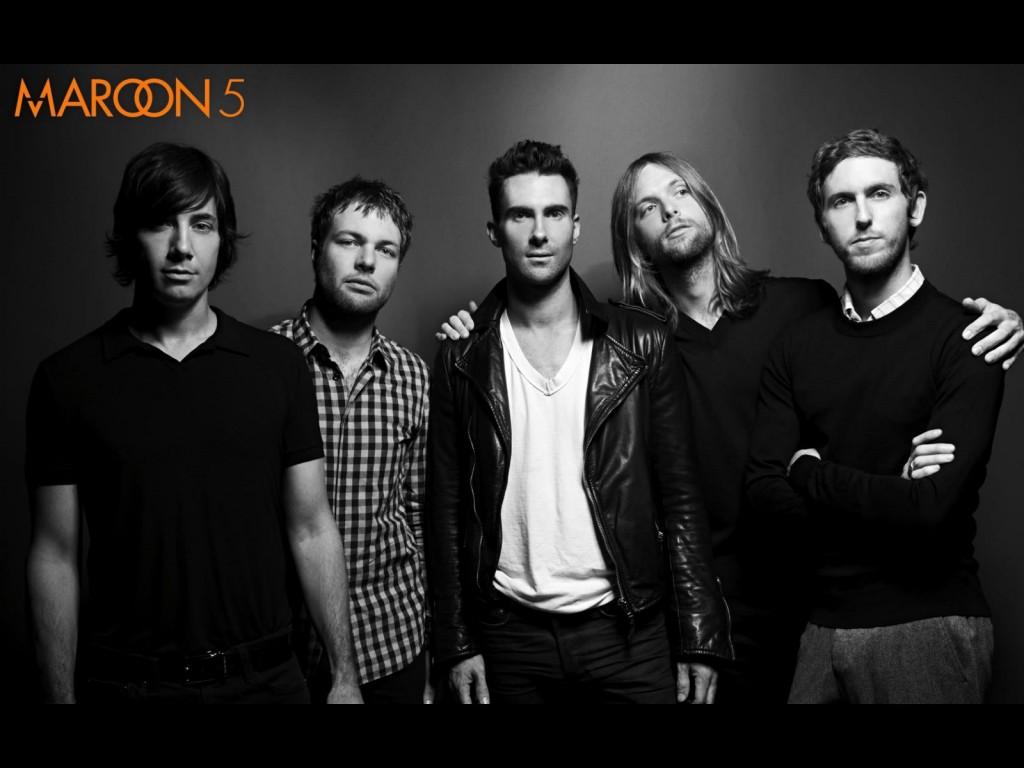 Papel de parede Maroon 5: Preto e Branco para download gratuito. Use no computador pc, mac, macbook, celular, smartphone, iPhone, onde quiser!