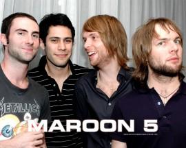 Papel de parede Maroon 5: Amigos