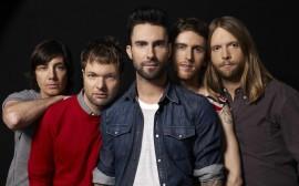 Papel de parede Maroon 5: Colegas