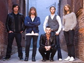 Papel de parede Maroon 5: Na Rua