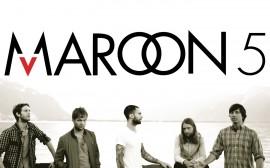 Papel de parede Maroon 5: Logotipo da Banda