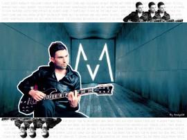 Papel de parede Maroon 5: Adam no Violão